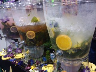 Floral Beveraged infused drinks