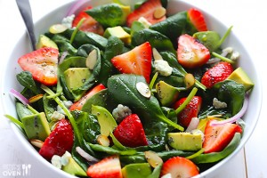 Strawberry-and-Avocado-Spinach-Salad