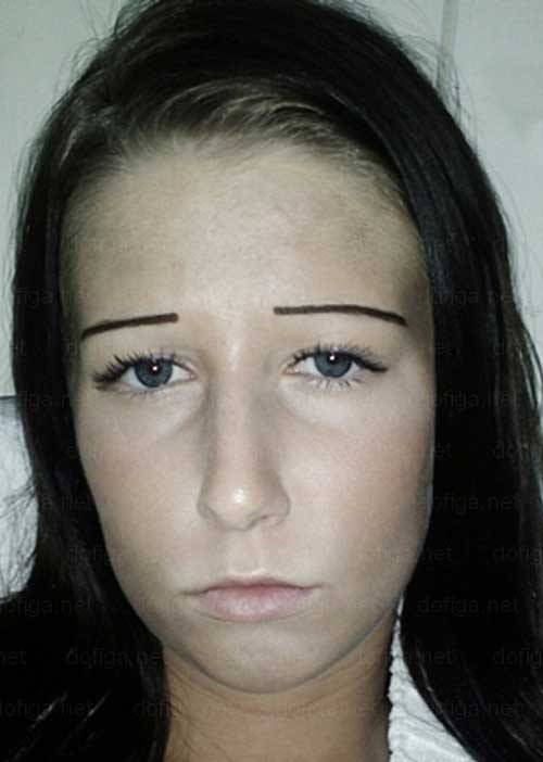20 Girls Who Don T Know What Eyebrows Are Supposed To