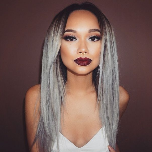 Granny Hair Trend Young Women Are Dyeing Their Hair