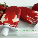How to Make Healthy Homemade Strawberry Creamsicles