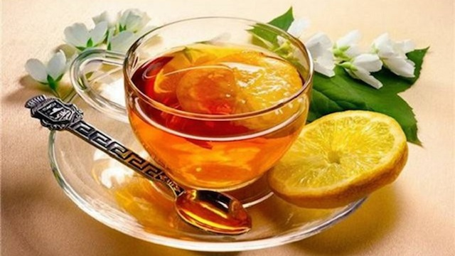 Honey-Lemon-Herb-Tea