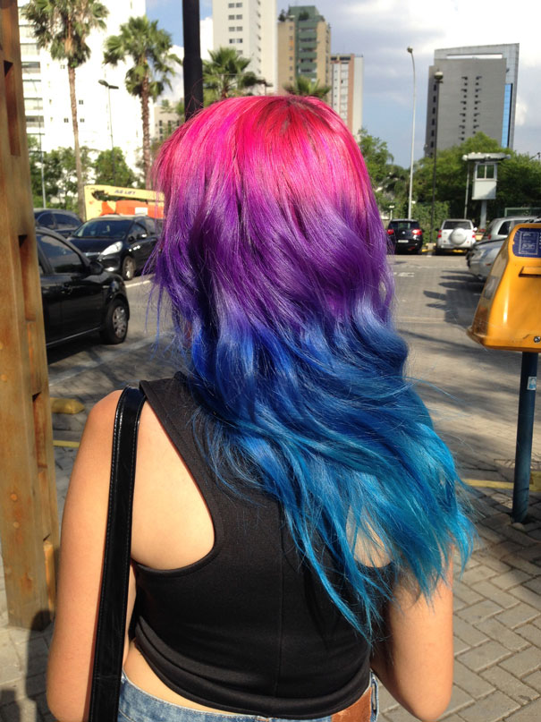 Rainbow Pastel Hair Is A New Trend Among Women Womans Vibe