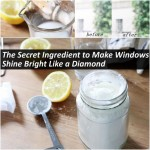 DIY Secret Homemade Ingredient to Make Windows Shine
