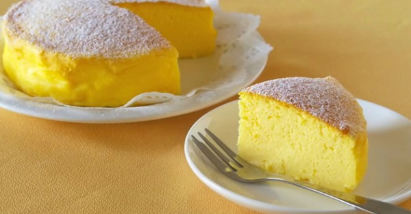 """The Whole World is Crazy For This """"Japanese Cheesecake"""" With Only 3 Ingredients"""