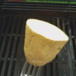 He Starts By Rubbing A Potato All Over His Grill. The Reason? Genius!