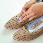 She Has A Simple Trick….She Puts Bags Of Water In Her Shoes. The Result Is So Good, I'm Trying Now