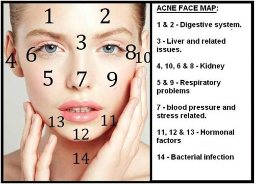 What Chinese Face Mapping Reveals About Your Health ...