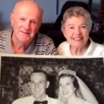Couple Eats Bite Of Unrefrigerated Wedding Cake Each Year For 60 Years‏