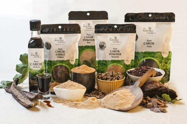Various products from The Australian Carob Company: Pure Carob Syrup, Pure Carob Kibble Nibbles, Pure Carob powder raw, Pure Carob powder roasted and Pure Carob Pods. Daily Features, Fitness & Wellbeing,
