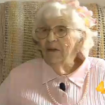 94-Year-Old Woman Purchases Five-Seconds of Commercial Time to Air Three-Word Message on TV