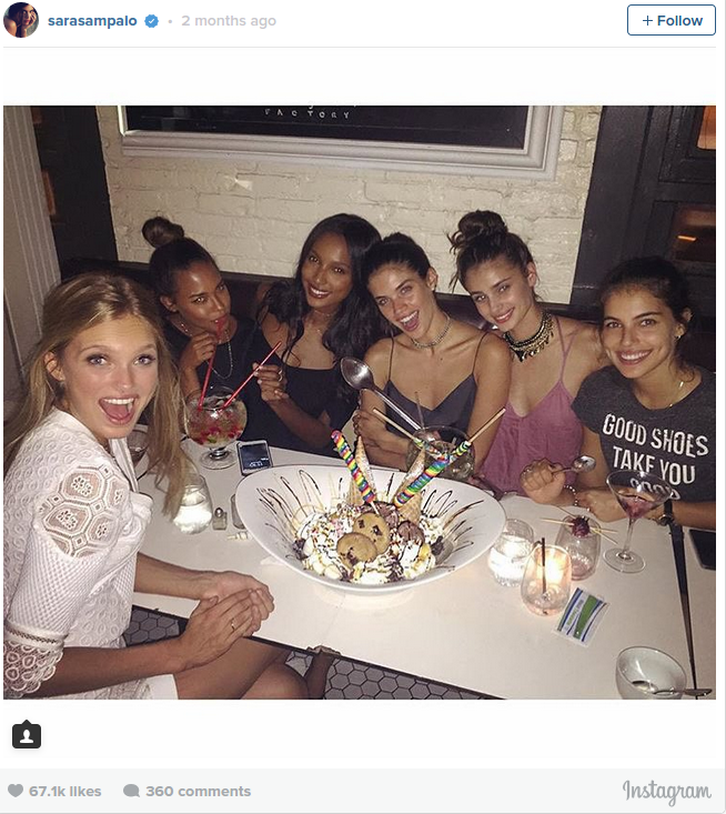 What Victoria s Secret models actually eat Business Insider