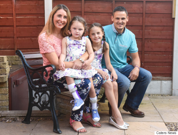 PIC BY IAIN WATTS/MERCURY PRESS (PICTURED: CLAIRE AND JASON SMITH WITH THIER DAUGHTERS RUBY, 8 AND ISLA, 4)Meet the little girl who has not had a birthday party for four years - because excitement could kill her. Isla Smith, four, has Dravet syndrome, a rare form of epilepsy where the potentially lethal seizures can be triggered by excitement, as well as temperature, water and what time the youngster eats. She was diagnosed with the condition aged just 14 months old and since then her parents, Claire and Jason, and her sister Ruby, eight, have had to tailor their lives to fit around her unusual condition. SEE MERCURY COPY
