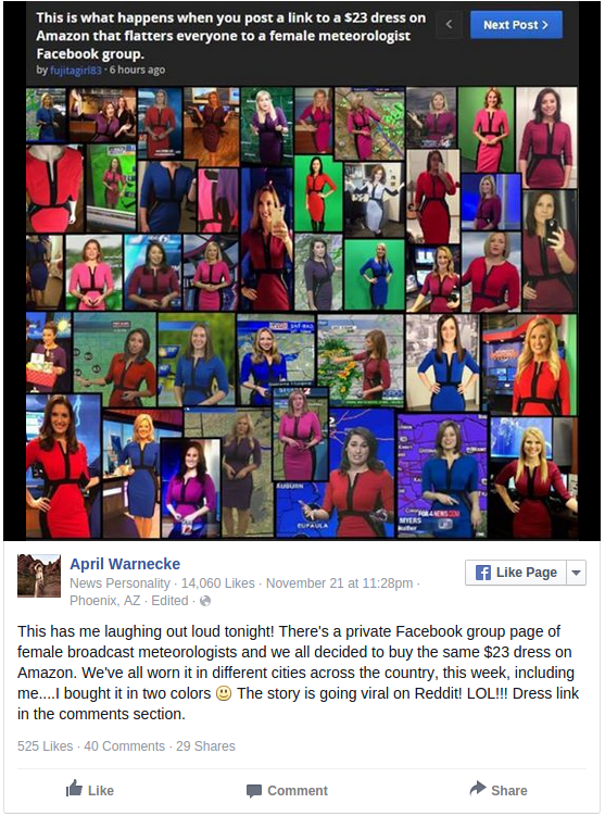 Women TV Meteorologists Love This 22.99 Dress From Amazon BuzzFeed News