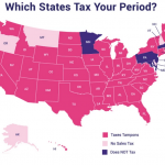 The 'Tampon Tax' is Real: These Are The 40 states Taxing Periods