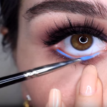 Every Time It Rains, She Draws A Blue Line Under Her Eye – When You See Why, You'll Do The Same