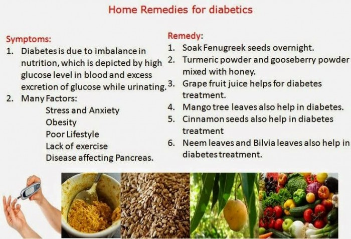 home remedies to lower glucose levels