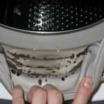 How To Remove Dangerous Mold And Unpleasant Odors From Your Washing Machine with 2 Ingredients