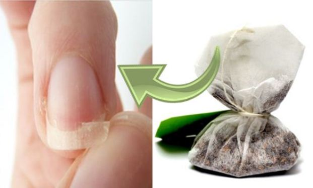 Super-Cool-Invisible-Method-for-Fixing-a-Badly-Broken-Nail-With-a-Tea-Bag