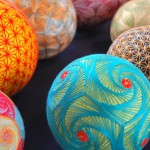 Hand Crafted Geometric Spheres Made By 93 Year Old Grandmother