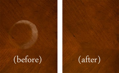 Genial You May Be Surprised By Some Of These Ideas For Removing Cloudy White Water  Marks From Wood Surfaces.