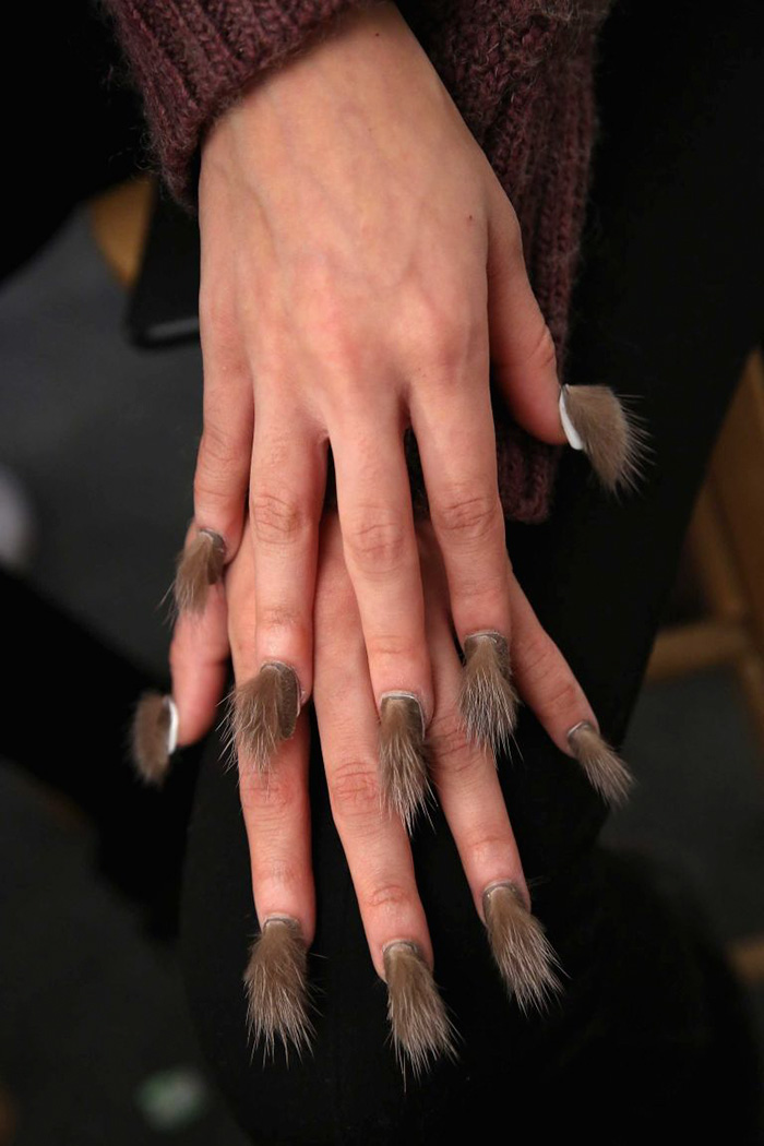 Furry Nails Is The Hairiest Trend Right Now