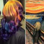 Hairstylist Turns Hair Into Classic Art