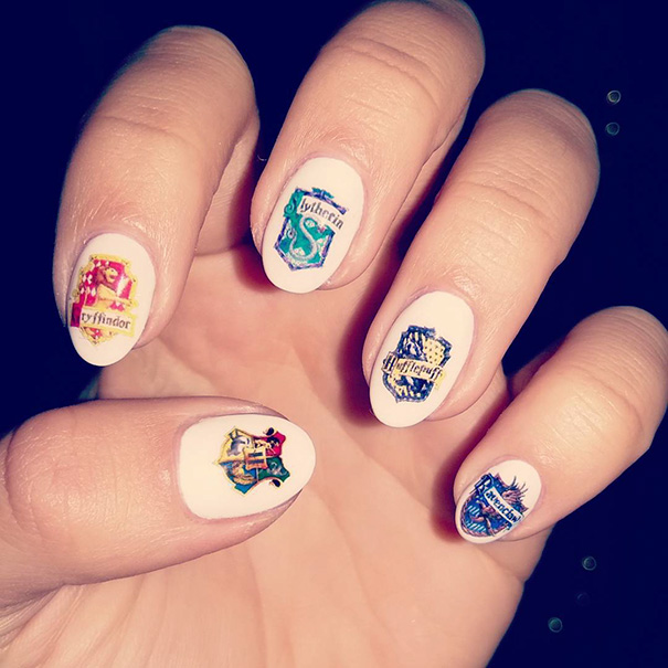 harry potter nail art ideas that are pure magic