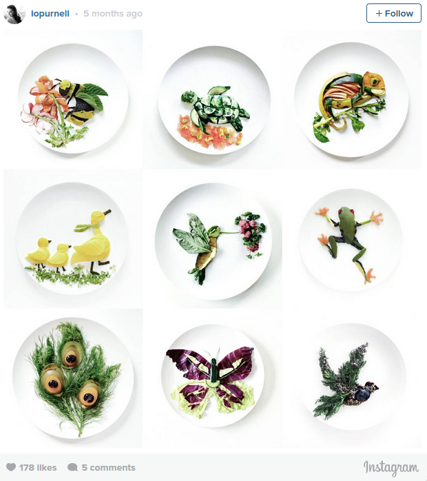 Photographer turns old food scraps into new pieces of art