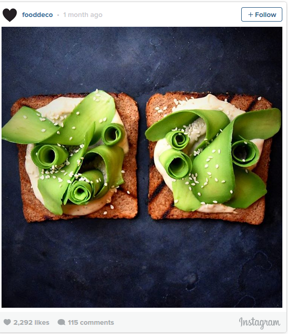 Avocado Toast Art Like You ve Never Seen Before Greatist