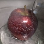 Man Pours Hot Water Over a Store-Bought Apple. What Comes Off Will Disgust You