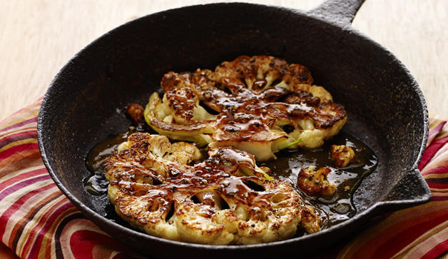 Pan Fried Cauliflower Recipes