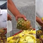 The Internet Is Freaking Out Over This Crazy New Way to Cut a Pineapple