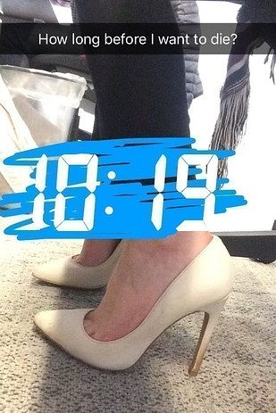 i tried four hacks to make high heels suck less and here's