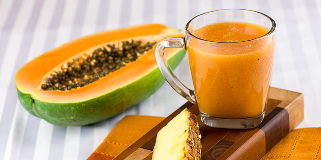 Papaya-Pineapple-Juice-4