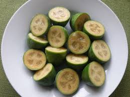 Pineapple Guava plate