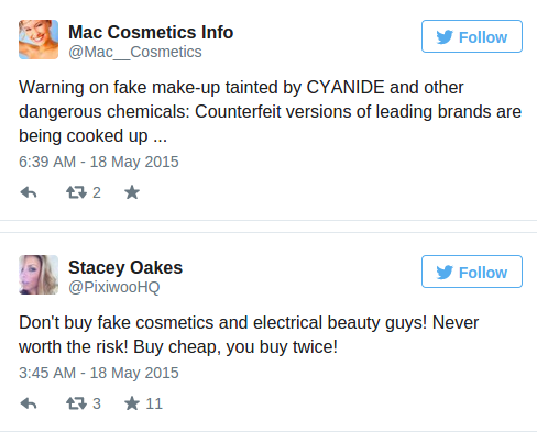 Toxic trade Rat droppings urine contained in dangerous fake cosmetics sold online — RT UK