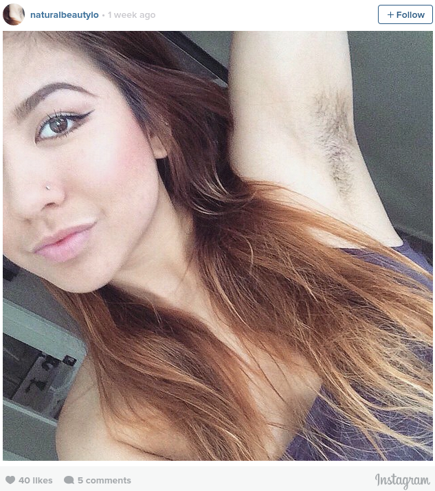 Armpit Hair Is Trending And It s A Step Forward For Women Everywhere
