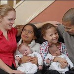 This Couple Amazingly Gives Birth To Black And White Twins…Twice