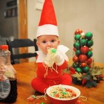 Dad of Six Turns His Baby Into Adorable Elf On The Shelf