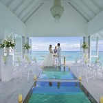 Overwater Wedding Pavilion With Glass Aisle Opens In Maldives