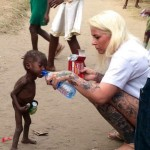 Heartbreaking Moment When A 2-Year-Old Left To Die Is Given Water In Nigeria