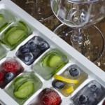 COOL REFRESHMENT, INSTEAD OF REGULAR ICE CUBES