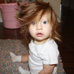 Parents Share Pics Of Babies Born With Full Heads Of Hair