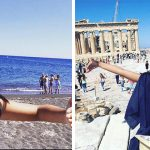 Woman Takes Funniest Solo Photos When Her Husband Misses Their Honeymoon
